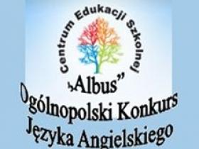 """Ogólnopolski Konkurs Języka Angielskiego """"Albus"""""""