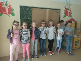 """""""Mistrz Ortografii"""" – wyniki szkolnego konkursu w klasach I - III"""